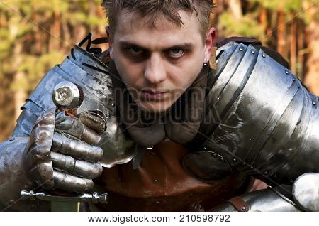 Knight Holding Sword