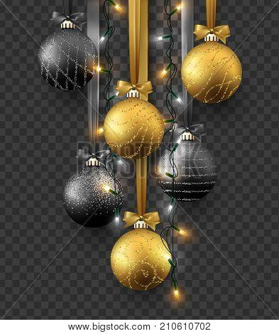 Traditional Christmas Lights.Traditional Christmas Vector Photo Free Trial Bigstock
