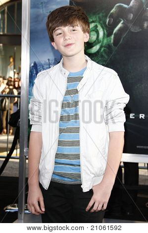 LOS ANGELES - JUN 15: Greyson Chance at the premiere of Warner Bros. Pictures' 'Green Lantern' held at Grauman's Chinese Theatre in Los Angeles,CA on June 15, 2011.
