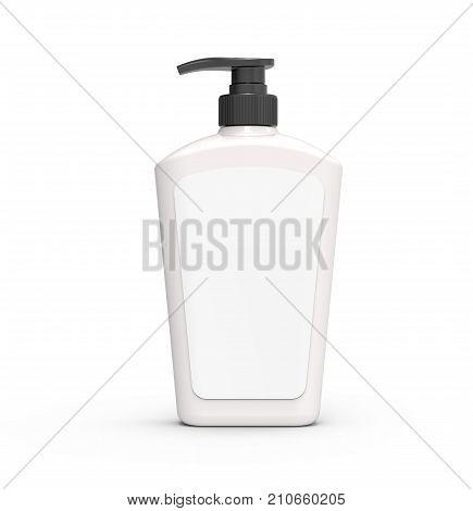 Pump Dispenser Bottle Mockup