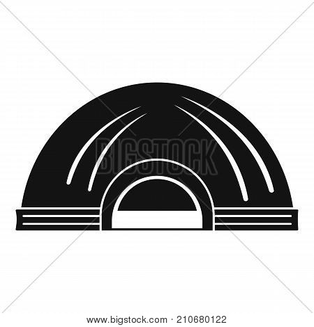 Aboriginal dwelling icon. Simple illustration of aboriginal dwelling vector icon for web