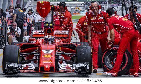 Kimi Raikkonen Of Scuderia Ferrari