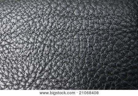 Leather Black Background