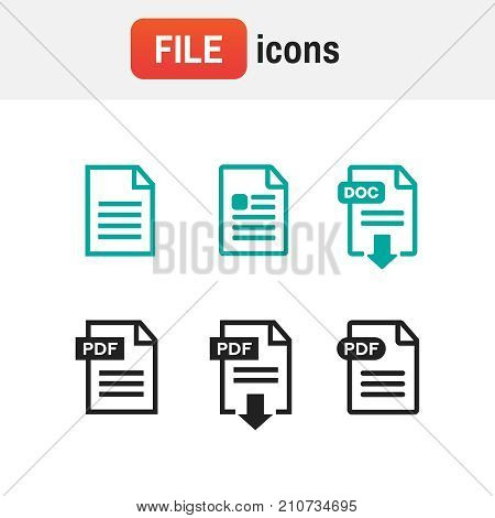 Icon Download Pdf. Pdf File Download Icon. Document Text, Symbol Web Format
