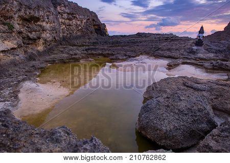 Broken Beach At Nusa Penida Island. Indonesia