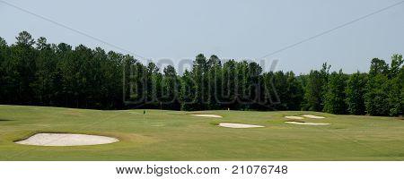 Golf Course Sand Traps