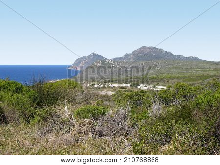 CAPE POINT, ON THE CAPE PENINSULA, IN SOUTH AFRICA, THE MOST SOUTHERLY POINT OF THE AFRICAN CONTINENT 01a