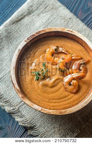 Bowl Of Bisque Soup