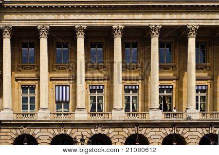 Close up of the Academie De Musique