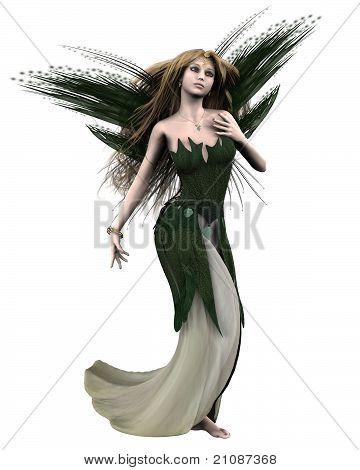 Titania, Queen of the Fairies from Shakespeare's A Midsummer Night's Dream, 3d digitally rendered illustration poster