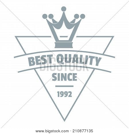 Quality jewelry logo. Simple illustration of quality jewelry vector logo for web