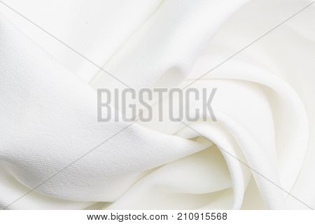 natural fabric linen texture for design. sackcloth textured. Canvas for Background. Image has shallow depth of field. White  canvas texture background