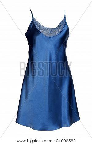 Dark Satin Women's Nightgown