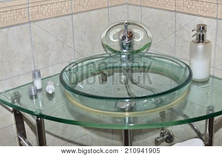 Water Basin And Body Lotion