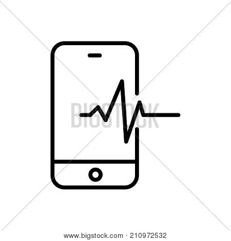 Modern diagnostic line icon. Premium pictogram isolated on a white background. Vector illustration. Stroke high quality symbol. Diagnostic icon in modern line style.