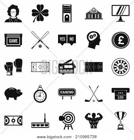 Sweep icons set. Simple set of 25 sweep vector icons for web isolated on white background