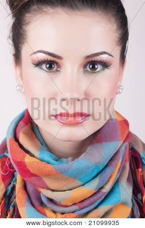 Absolutely Perfect Girl Portrait