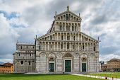Medieval cathedral of the Archdiocese of Pisa entitled to Santa Maria Assunta. Its construction began in 1064. poster