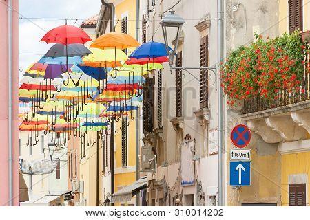 Novigrad, Istria, Croatia, Europe - Traditional Annual Celebration In The Streets Of Novigrad