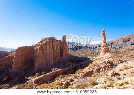 La Poronga Rock Formation,bolivia.quebrada De Palmira,t Upiza
