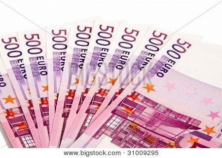 500 Euros Lie A Fan