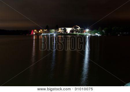 Australia National Museum at Night