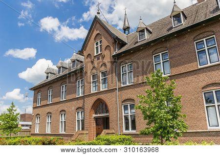 Facade Of The Historic Monastery In Hoogeveen, Netherlands