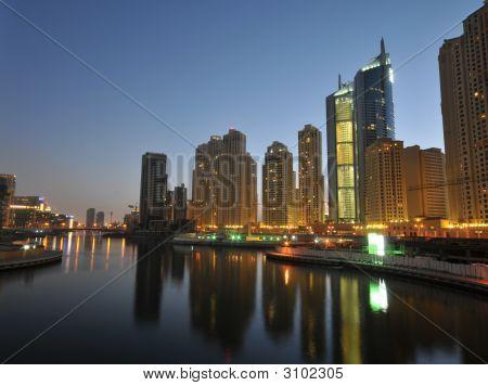 Dubai Charming Night
