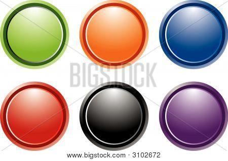 Gel Internet Buttons