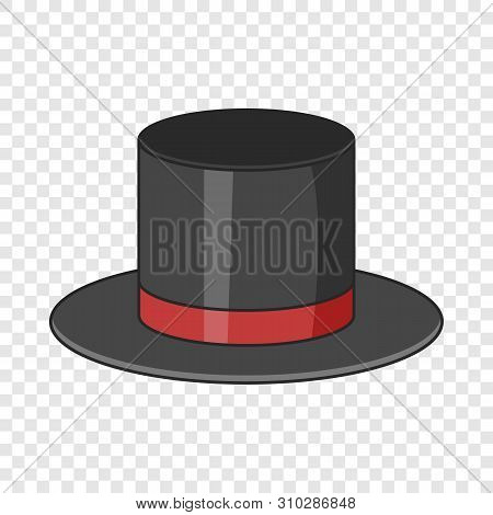 Top Hat Icon. Cartoon Illustration Of Top Hat Vector Icon For Web Design