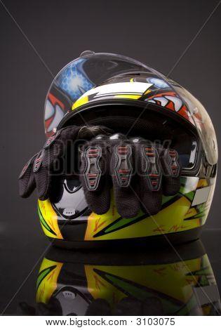 Helmet And Glove