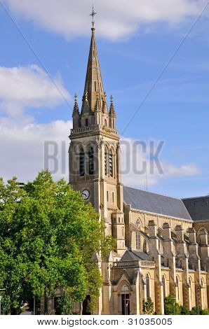 Church of Sable sur Sarthe in France