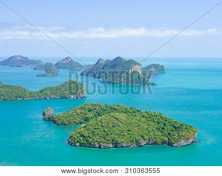 Beauty Scene Of Mu Ko Ang Thong National Park, Island In Thailand