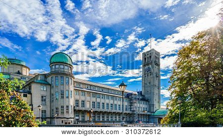 German Museum - Deutsches Museum - In Munich, Germany, The Worlds Largest Museum Of Science And Tech