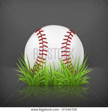 Baseball on grass, 10eps