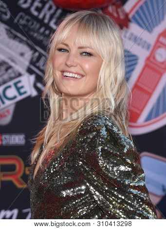LOS ANGELES - JUN 26:  Malin Akerman arrives for the 'Spider-Man: Far From Home' World Premiere on June 26, 2019 in Hollywood, CA