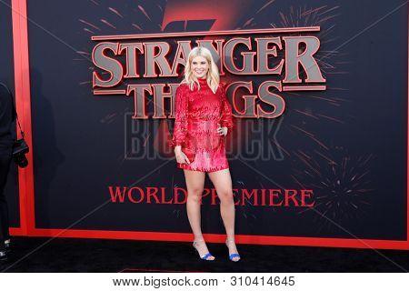 LOS ANGELES - JUN 28:  Caroline Arapoglou at the