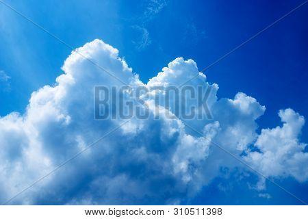 Puffy Clouds And Blue Sky - Puffy Clouds And Blue Sky