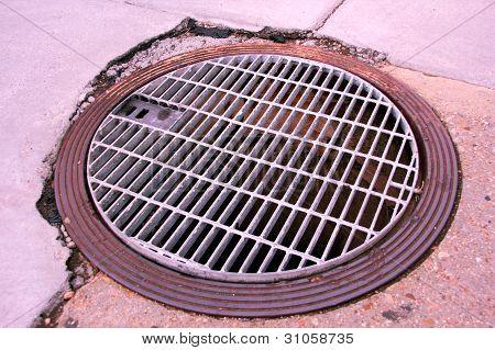 Subway Manhole Cover