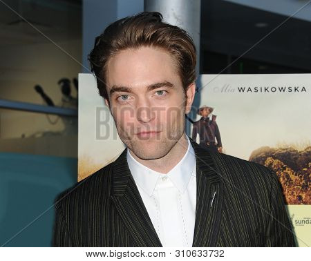 Robert Pattinson at the Magnolia Pictures' premiere of 'Damsel' held at the ArcLight Hollywood in Hollywood, USA on June 13, 2018.