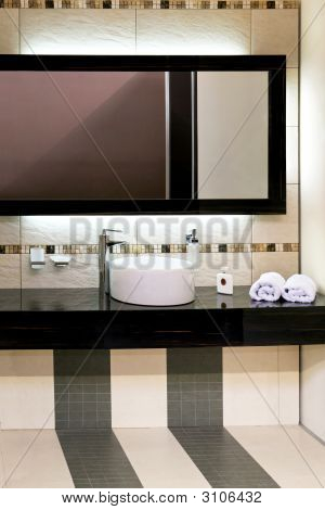 Basin And Mirror