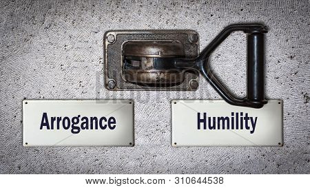 Wall Switch The Direction Way To Humility Versus Arrogance