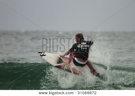 Coolangatta, Australia - Mar 03 : Quicksilver  Pro Asp World Tour, World Number 1 Taj Burrow During