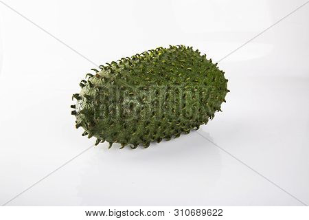 Annona Exotic Fruit. Sweet Tropical Green Fruit