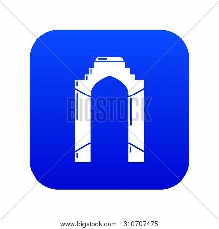 Archway Palace Icon. Simple Illustration Of Archway Palace Vector Icon For Web