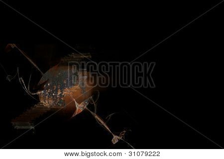 Abstract surface with rust