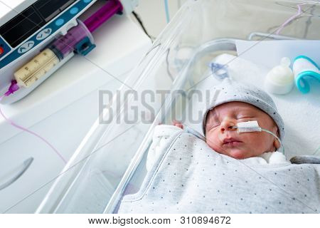 Pump And Premature Baby Feeding In Hospital