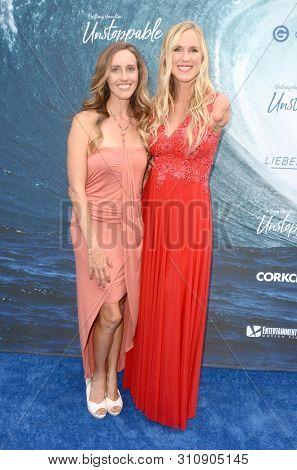 LOS ANGELES - JUL 9:  Becky Hamilton, Bethany Hamilton at the