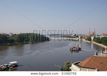 Tisza river, Szeged, Hungary