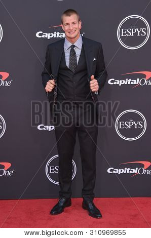LOS ANGELES - JUL 10:  Rob Gronkowski arrives to ESPY Awards 2019  on July 10, 2019 in Hollywood, CA